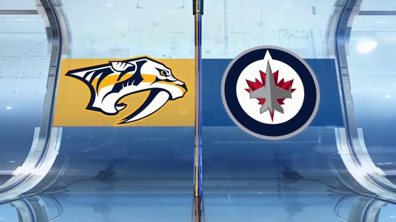 Predators strike back to even series with Jets - Sportsnet.ca