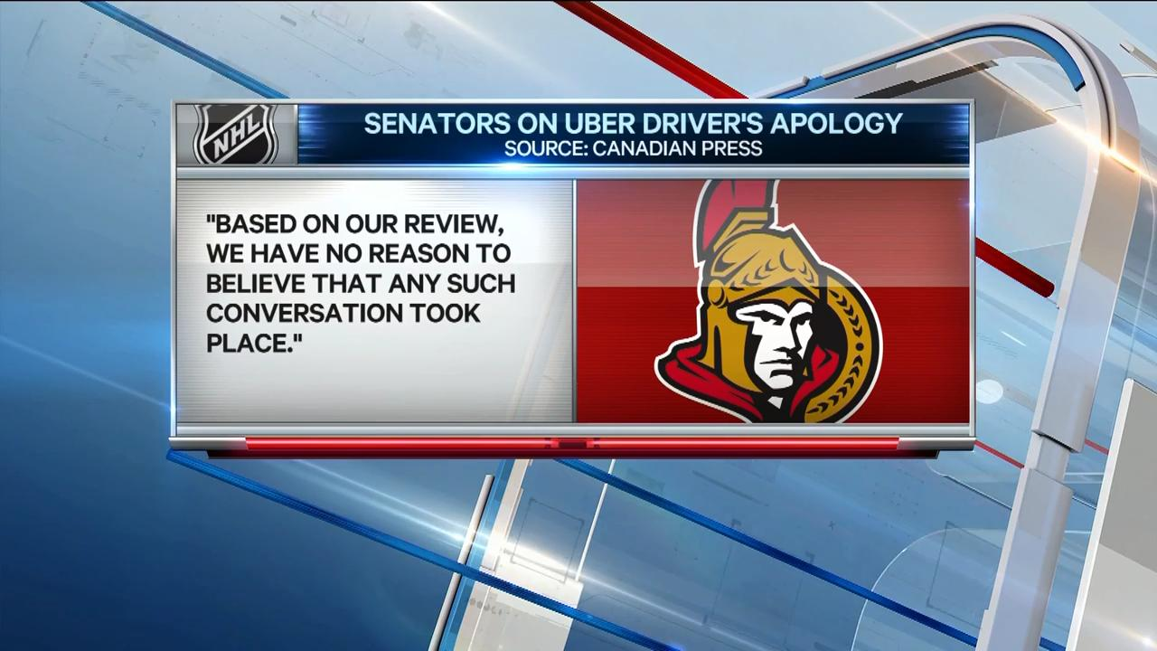 uber driver ottawa senators video