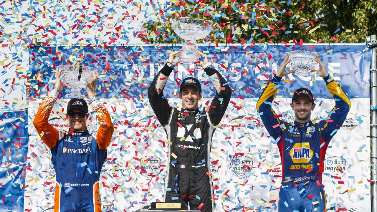 Canada's Hinchcliffe places sixth in hometown Indy Toronto